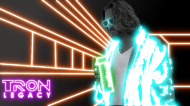 Exclusive first look at Jeff Bridges as Flynn in Tron Legacy